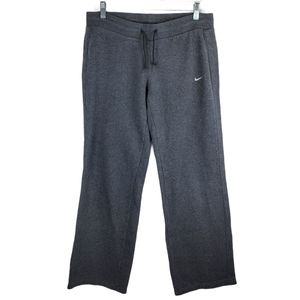 Nike Wide Leg Tie Waist Sweatpants Bottoms Lounge